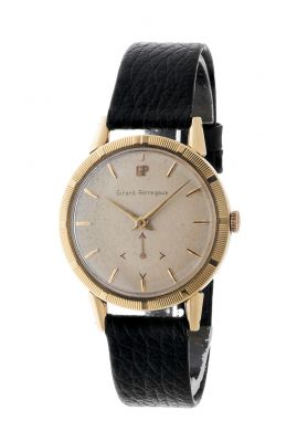 GIRARD-PERREGAUX watch, for men / Unisex. Yellow gold case.