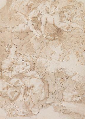 DOMENICO PIOLA (Italy, 1627 - 1703).