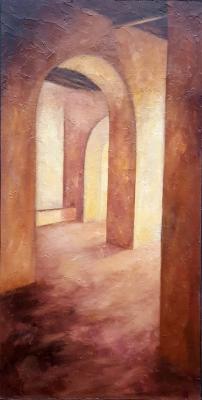 """""""Interior con arcos"""". Miguel Ángel García López"""