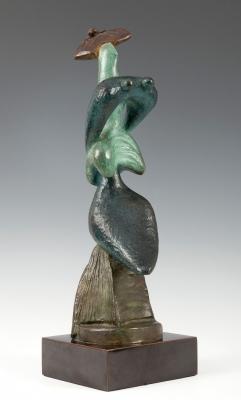 """""""Mujer con sombrero"""", 1954. Alexander Archipenko"""