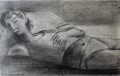 """""""Sin titulo"""".1988. Enric Balanzà"""