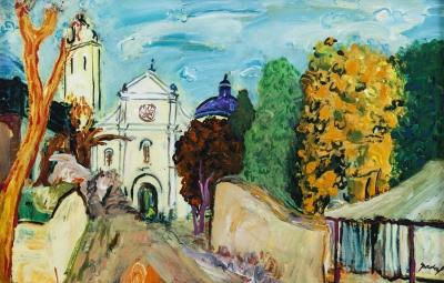 """""""Iglesia de Vilanova i la Geltrú"""" Carles Nadal Ferreres"""