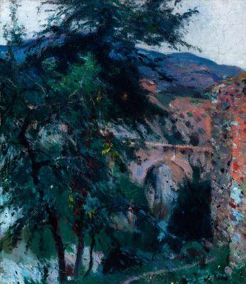 JOAQUIM MIR TRINXET (Barcelona, 1873 - 1940).