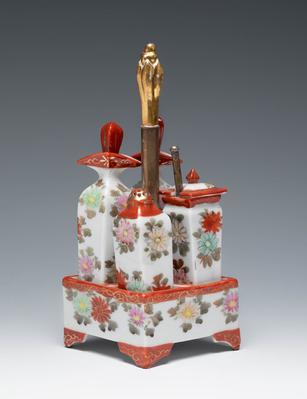 Perfumeros. Japoneses, mediados del siglo XX.