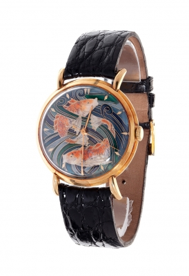 Reloj IWC, año 1950.En oro amarillo.
