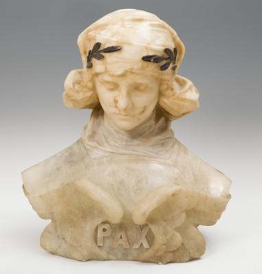 """""""Pax"""" Escultura de la Belle Époque; Barcelona, finales"""