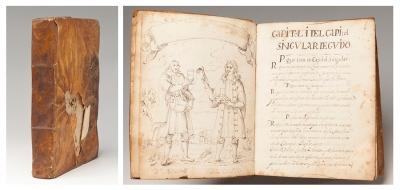 Libro manuscritode Medicina de Consulta. Cataluña, s.