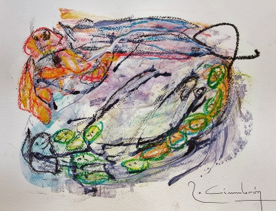 "Lote: 35143838Miguel Robledo Cimbrón (Mora de Rubielos, Teruel, 1956).""Art Mix 1255""."