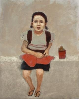 """""""La espera"""", 2013. ESTEBAN MARTÍNEZ, Pedro"""
