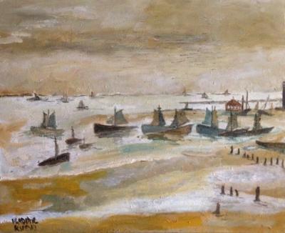 Vladimir Ksieski (Londres, 1944). Sand banks