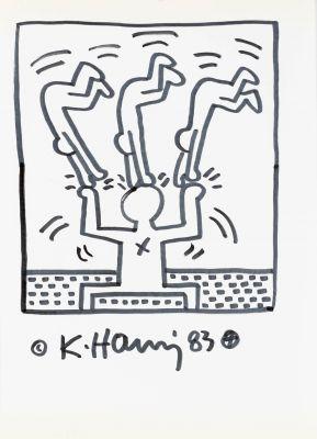 KEITH HARING (Pennsylvania, 1958- New York, 1990).
