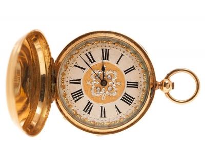 Reloj de bolsillo para señora H.