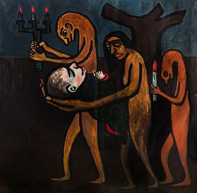 """""""Momento de una familia"""", 1981. VICTOR MIRA"""