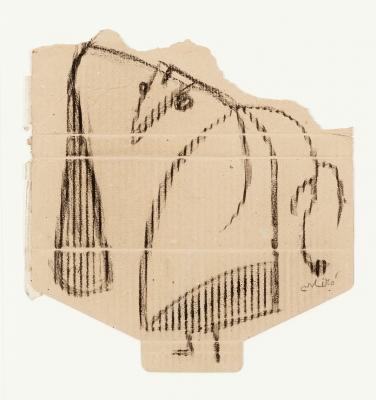 """""""Femme"""", 1981.  Joan Miró Ferrá"""