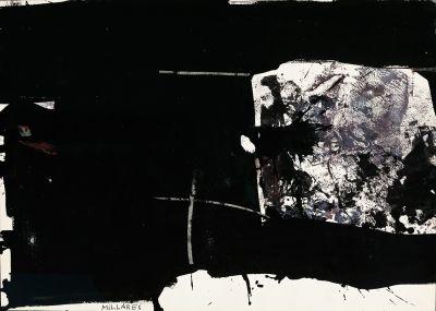 MANOLO MILLARES SALL (Las Palmas de Gran Canaria, 1936 - Madrid, 1972).Untitled, 1960.