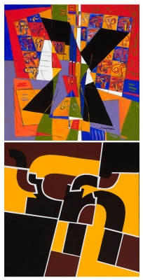 JORGE MORGAN (Madrid,1953). Sin título