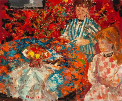 "EMILIO GRAU SALA (Barcelona, 1911 – 1977). ""Maternidad"", París, 1967."