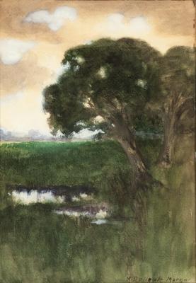 DENEALE MORGAN, Mary (EUA,1868-1948). Paisaje