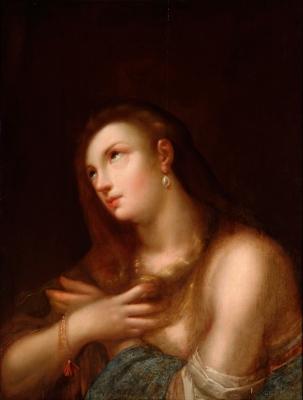 """""""María Magdalena"""" Escuela veneciana del siglo XVII."""