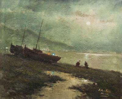 """Paisaje costero"". Enric Beltrán Messa"