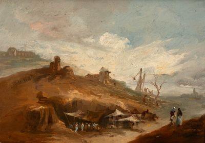 Atribuido a EUGENIO LUZAS VELAZQUEZ (Madrid, 1817 – 1870)