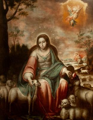 """""""La Divina Pastora"""". BERNARDO LORENTE GERMÁN"""
