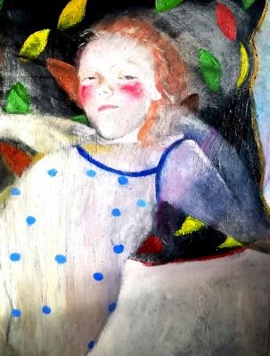 """SUSANA MATA (Barcelona, 1968).""""Sleepy I""""."""