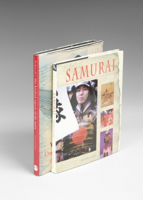 """Samurai"" y ""Yoshitoshi's one hundred aspectos of the moon""."