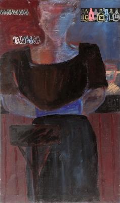 """Vestit negre"", 1988. ORTÍ I PONSÀ, Josep"