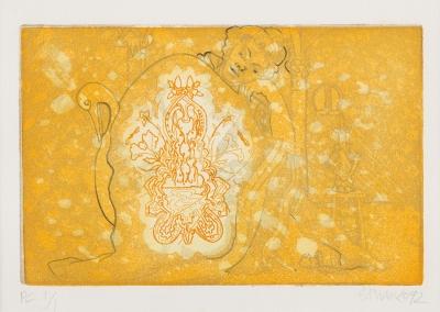 FRANCO, Carlos (Madrid, 1951). Sin título, 1992