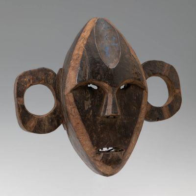 Pongdudu mask (Boa). Democratic Republic of the Congo, first half of the 20th century.