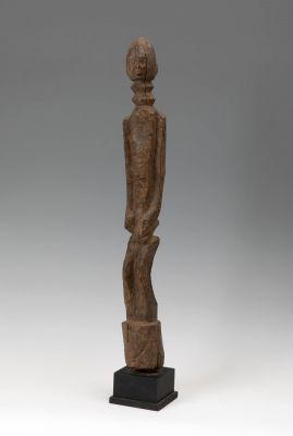 Nduleri figure. Dogon, Mali, late 19th-early 20th century.