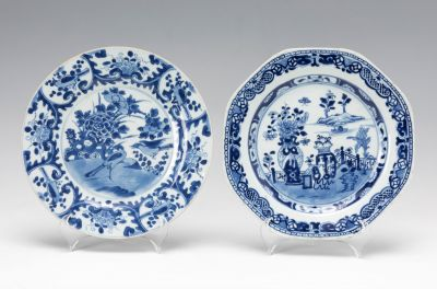Pareja de platos. China, Época KangXi, s.