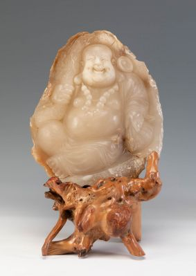 Gran buda de la felicidad. China, siglo XX.