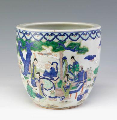 Jardinera. China, siglo XX.