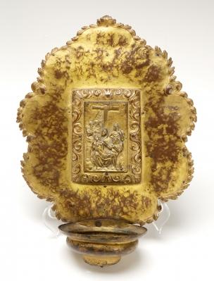 Benditera, siglos XVII-XVIII. Latón