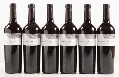 Seis botellas de Quinta de Quercus 2011.