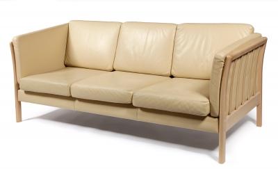 Sofá de diseño danés, años 70-80.