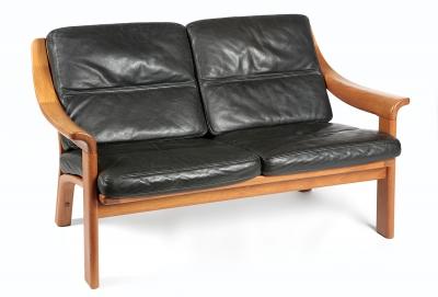 Sofá de diseño danés, años 70.