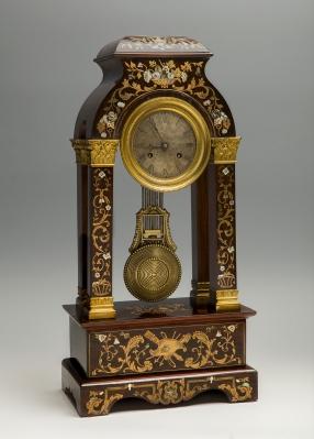 Reloj de sobremesa, hacia 1920.