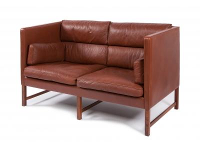 Sofá de diseño danés, años 60-70.