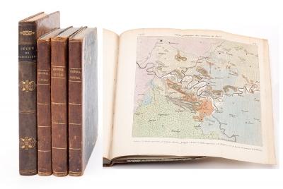 Dos libros de historia natural del siglo XIX.