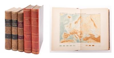 Tres libros de geografía e historia natural, finales de
