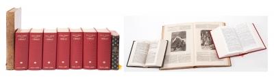 Colección de obras de Julio Verne, siglos XIX y XX.