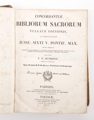 """""""Concordantiae Bibliorum Sacrorum vulgatae editionis"""" D"""