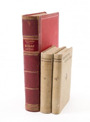 Dos libros de historia del arte, siglos XIX y XX.
