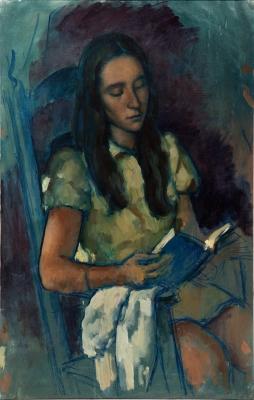 """Noia llegint"", 1970. VILA ARRUFAT, Antonio"
