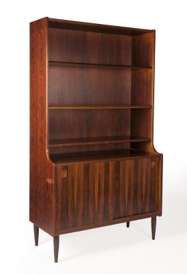 Librería; diseño danés de los años sesenta.