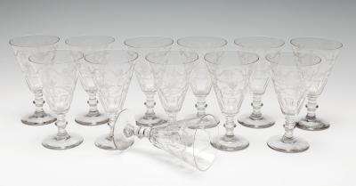 Conjunto de doce copas, ca. 1910