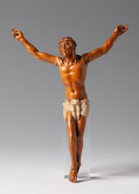 Cristo Crucificado; siglo XVII. Madera de Boj